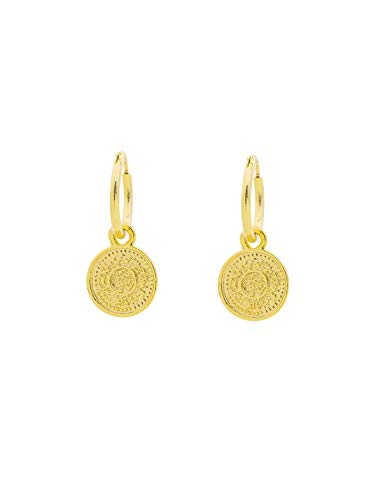 Münze Ohrringe Gold