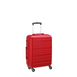 Delsey Carlit Cabina Trolley 4W Slim 55 Red