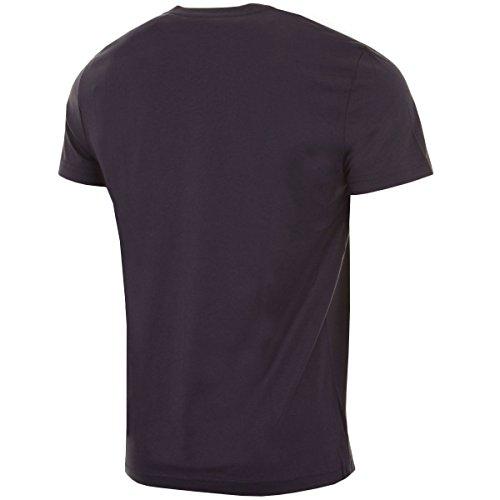 LACOSTE TH6604 T-Shirt Uomo Scollo V 100% Cotone BLU Blu