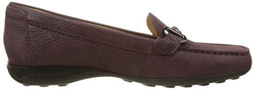 Geox Donna Euro D, Mocassins (Loafers) Femme Violet (Prune)