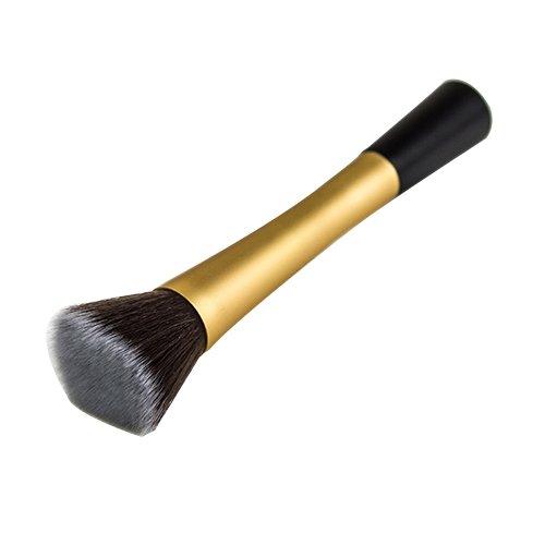 Blush Poudre Cosmétique Pointillé Pinceau Fond De Teint Outil De Maquillage Doré Modèle1051