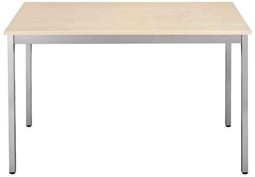 SODEMATUB 148REA Universaltisch, 1.400 x 800, ahorn/alu