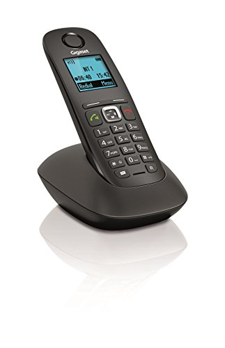 Siemens GIGASET A540 - Teléfono fijo digital (inalámbrico), negro