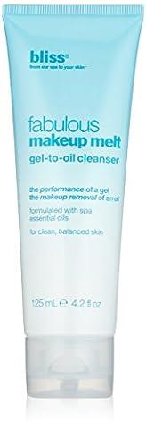 Bliss fabuleuse Performance de fonte Gel pour Maquillage Huile Nettoyant 4.2oz (125ml)