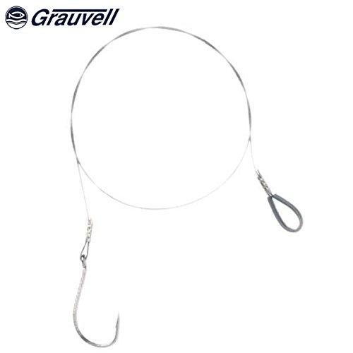 GRAUVELL ANZUELO 8299 MONTADO ACERO N.3/0 (6unidades)