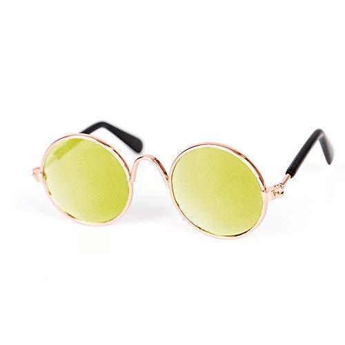 Honestyi Haustier Hund Katze Mode Sonnenbrillen UV Sonnenbrille Augenschutz tragen B12206 Brille für Haustiere