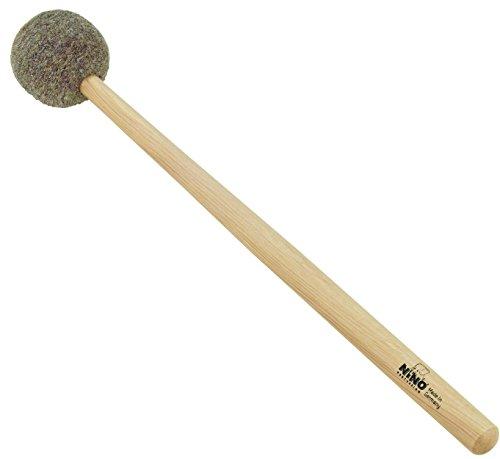 "NINO Percussion - Hand Percussion Mallet 10\"" (25,40 cm) Natur Fell Medium Hart (NINO970)"