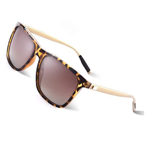 d100ce80b7 GQUEEN Gafas de sol polarizadas Clásico Retro para Hombre y Mujer UV400 GQ33