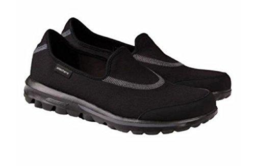Skechers Go Walk 2, Sneaker Donna Black