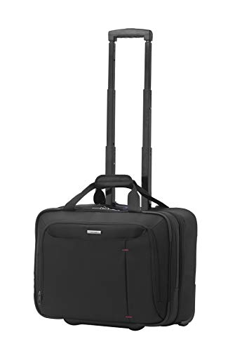 Samsonite Guardit Laptop Valigia con Ruote 46 Cm, 24 L, Nero