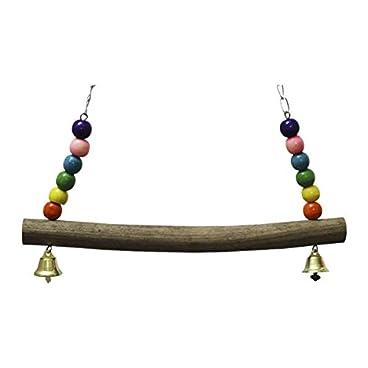 TOOGOO Chicken Swing Wooden Colorful Chicken Toys For Hens Bird Parrot Trainning Large Bird Parrot Trainning