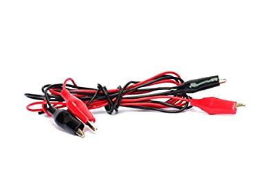 Electrobot 1M Test Leads Set with Alligator Clips Double-ended Jumper Wires