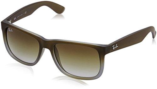 Ray-Ban Sonnenbrille Justin (Large (Herstellergröße: 54) braun