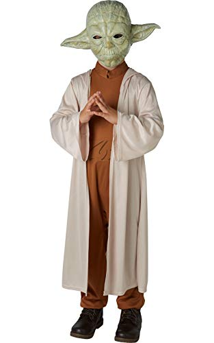 Rubie's 641086 1112 Star Wars Kostüm Jungen - Meister Yoda Kostüm