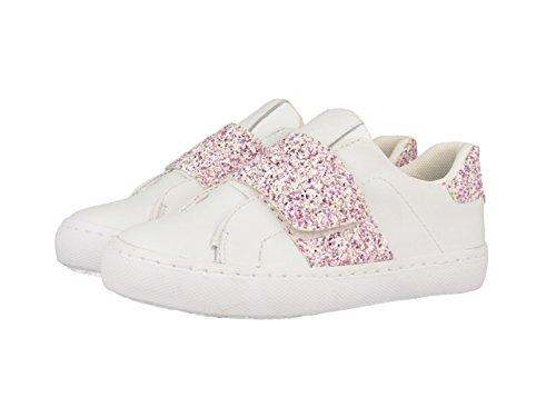 Gioseppo - bandie, scarpe sportive bambina, multicolore (blanco/rosa), 36 eu