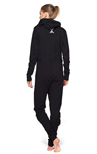 Onepiece Unisex Jumpsuit Air Schwarz (Black) - 2