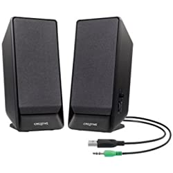 Creative A50 - USB betriebenes 2.0 Lautsprechersystem, schwarz