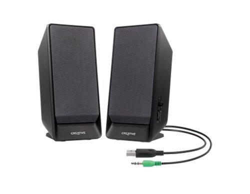Creative A50 2.0 Lautsprechersystem USB schwarz