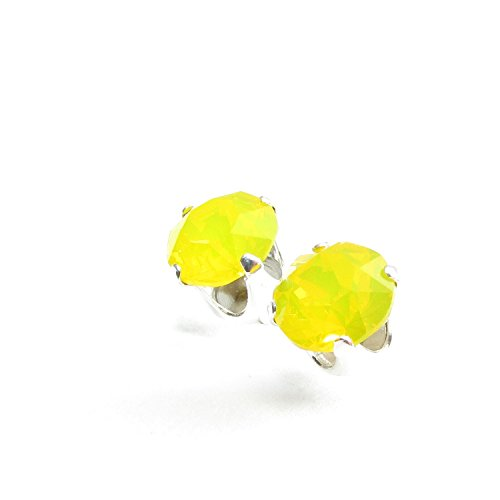 sterling-silver-stud-earrings-expertly-made-with-yellow-opal-crystal-from-swarovski-for-women