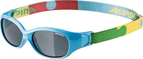 Alpina Unisex Jugend Sports FLEXXY Kids Sportbrille blau One Size