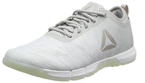 Reebok Speed Her TR Chaussures de Fitness Femme, Multicolore Spirit White/Moon Dust Met/Skull GR 000, 38 EU
