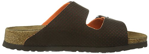 Birki's Arizona, Chaussures de Claquettes mixte adulte Marron - Braun (Micro Dots Brown)
