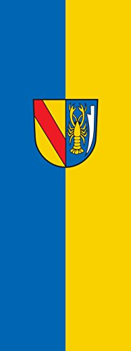 magFlags Drapeau Vörstetten | portrait flag | 6m² | 400x150cm