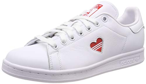 ith W G27893 Sneaker, Weiß (Active Red/Footwear White), 36 EU ()