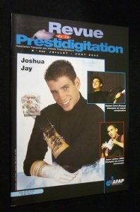 Revue de la prestidigitation, n° 536, juillet-août 2003 : Joshua Jay
