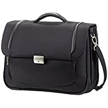 "Samsonite X'Blade Business 2.0 Briefcase 3 Gussets 16"" Maletines, 18 L, Negro (Negro)"