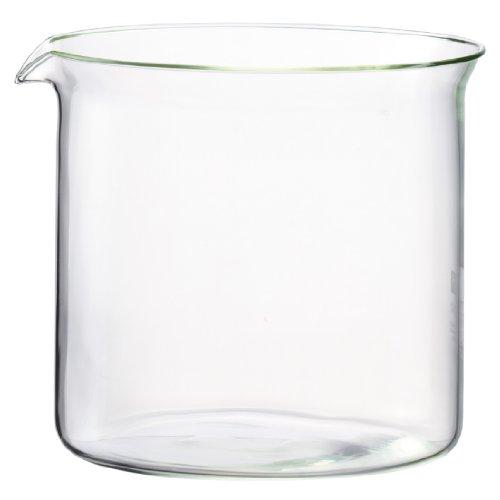 Bodum 1860–10Spare Glass vetro di ricambio per teiere 1270/1870/1880/1917/10554/105531,5L Trasparente
