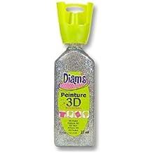 Pintura multisuperficie 3D - Purpurinas plateadas