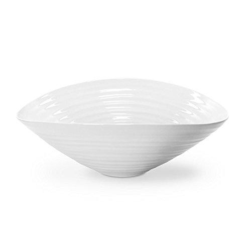 Sophie Conran pour Portmeirion Saladier, Porcelaine, Blanc, 33 x 33 x 11 cm