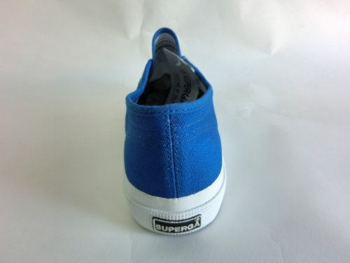 Superga , Baskets mode pour homme Vert vert clair Bleu - Blue Fluo