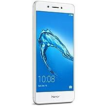 """Honor 6C - Smartphone libre de 5"""" (lector de huellas, 3 GB RAM, 32 GB ROM, EMUI 4.1 compatible con Android 6.0, octa core, cámara 13 MP, frontal 5 MP) color plata"""