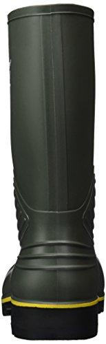 Dunlop aCIFORT b440631.aF kUIT langschaft bottes en caoutchouc mixte adulte Vert (Black/black)