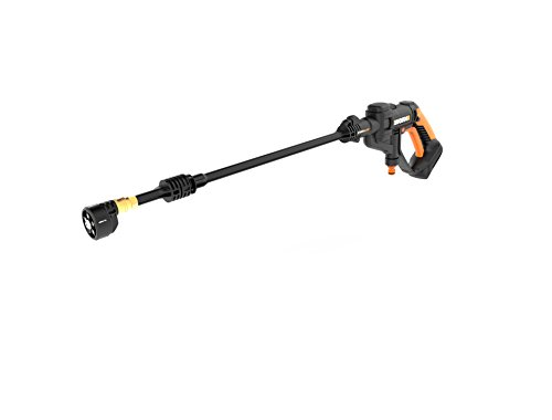 WORX kabelloser Hydroshot tragbarer Power-Reiniger, 20 V Li-Ion, 2,0 Ah, 320 psi, 20 V Power Share-Plattform WG629.9, nur Werkzeug Nur Werkzeug