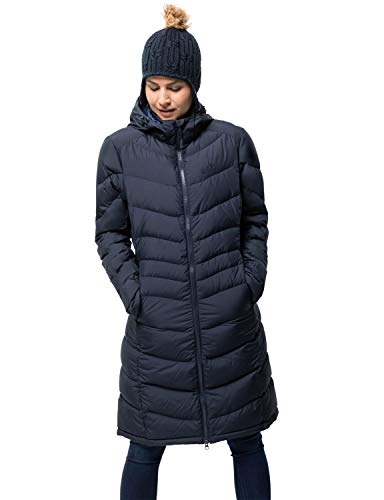 Jack Wolfskin Damen Selenium Coat Mantel, Midnight Blue, L