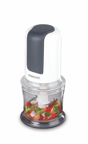 Kenwood CH580 Zerkleinerer | 500 Watt Universalzerkleinerer | 2 Geschwindigkeitsstufen | Multizerkleinerer Ideal für Obst und Gemüse | Elektrisch | Quad Blade-System | 500 ml Acrylbehälter | Weiß
