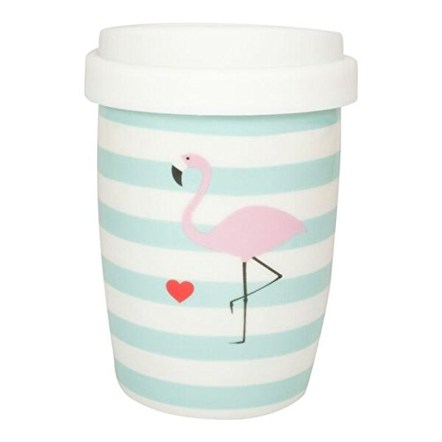 "Mea-Living Coffee to go Becher klein ""Flamingo"""