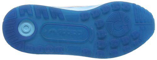 adidas ZX Flux ADV, Scarpe da Corsa Unisex – Adulto Bianco (Ftwrr White/Ftwrr White/Blue GlowFtwrr White/Ftwrr White/Blue Glow)