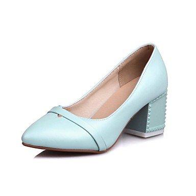 LvYuan-ggx Damen High Heels Komfort Neuheit Gladiator Schuhe für das Blumenmädchen Leuchtende Sohlen formale Schuhe Lackleder Sommer HerbstKleid , white , us6.5-7 / eu37 / uk4.5-5 / cn37