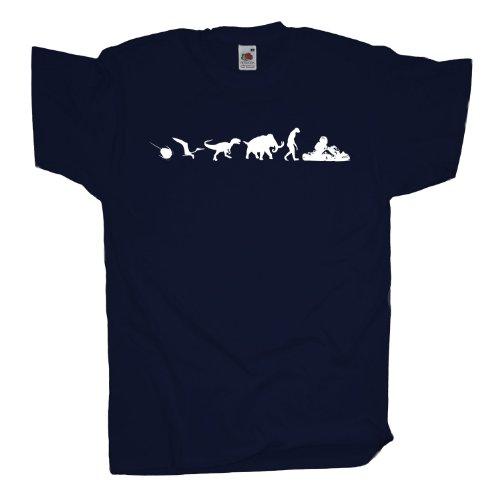 Ma2ca - 500 Mio Years - Gokart T-Shirt Navy