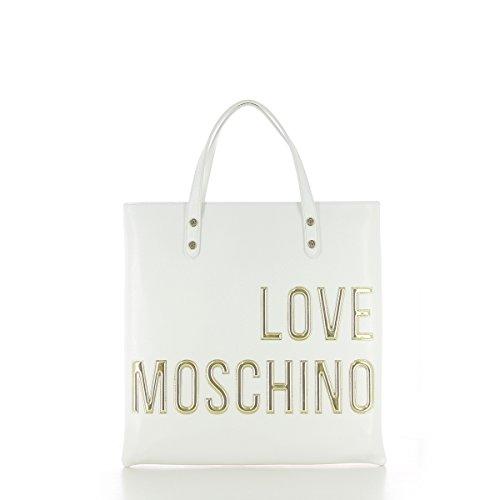 Love Moschino JC4083PP13LL0 Borsa A Mano Donna Bianco