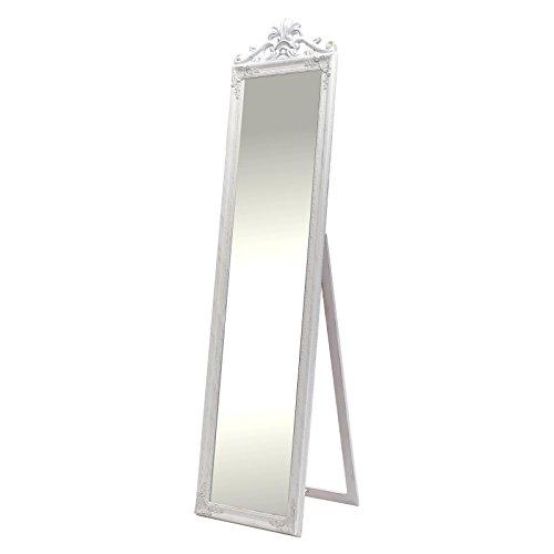 Magnifique Miroir sur pied ornementé \