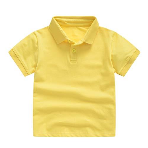 MRURIC Kinderkleidung Jungen,Kleinkind Kinder Baby Mädchen Jungen Short Classic Solid T-Shirt Tops Kleidung,Headset Kurzarm T-Shirt Outdoor Sport Kurzarm Kindergeburtstag Geschenk