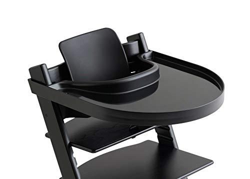 PlayTray Tisch, Passend Für Den Tripp Trapp Hochstuhl, Schwarz (Alternative Bein-druck)