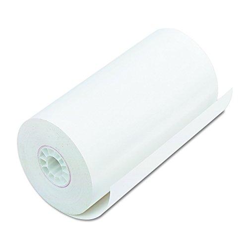 PM Company Perfection schwarz Bild Thermorollen, 4.28-inch/115-feet, weiß, 25pro Karton (06382) (Thermische Kreditkarte Papier)