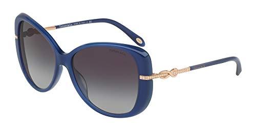 Tiffany & Co. Damen 0TY4126B 81923C 57 Sonnenbrille, Blau (Opal Bluee/Greygradient),