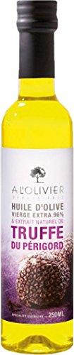 A l'Olivier 'Daily' - Olivenöl mit Trüffel aus dem Perigord (Truffe de Perigord) in der Glasflasche 250 ml